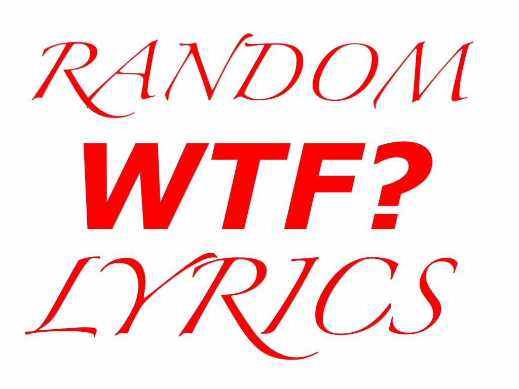 Random WTF Lyrics Christmas Special – Nerd With An Afro
