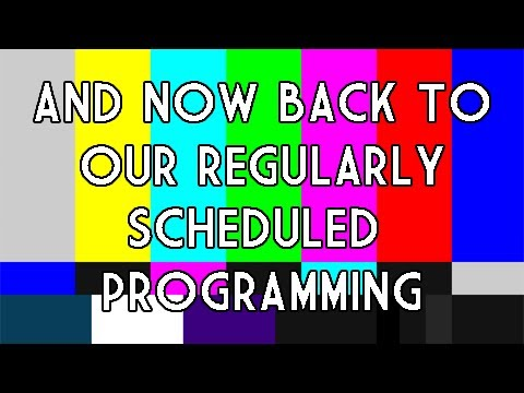 Image result for back to our regularly scheduled program